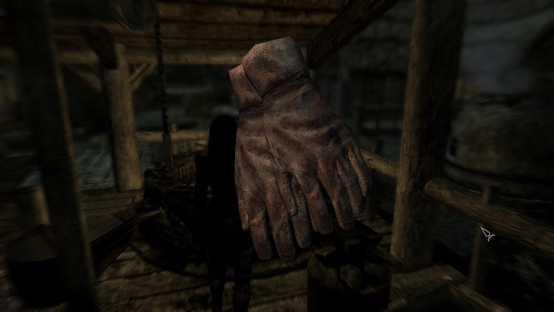 Simple Armored Gloves   Простые бронированные перчатки