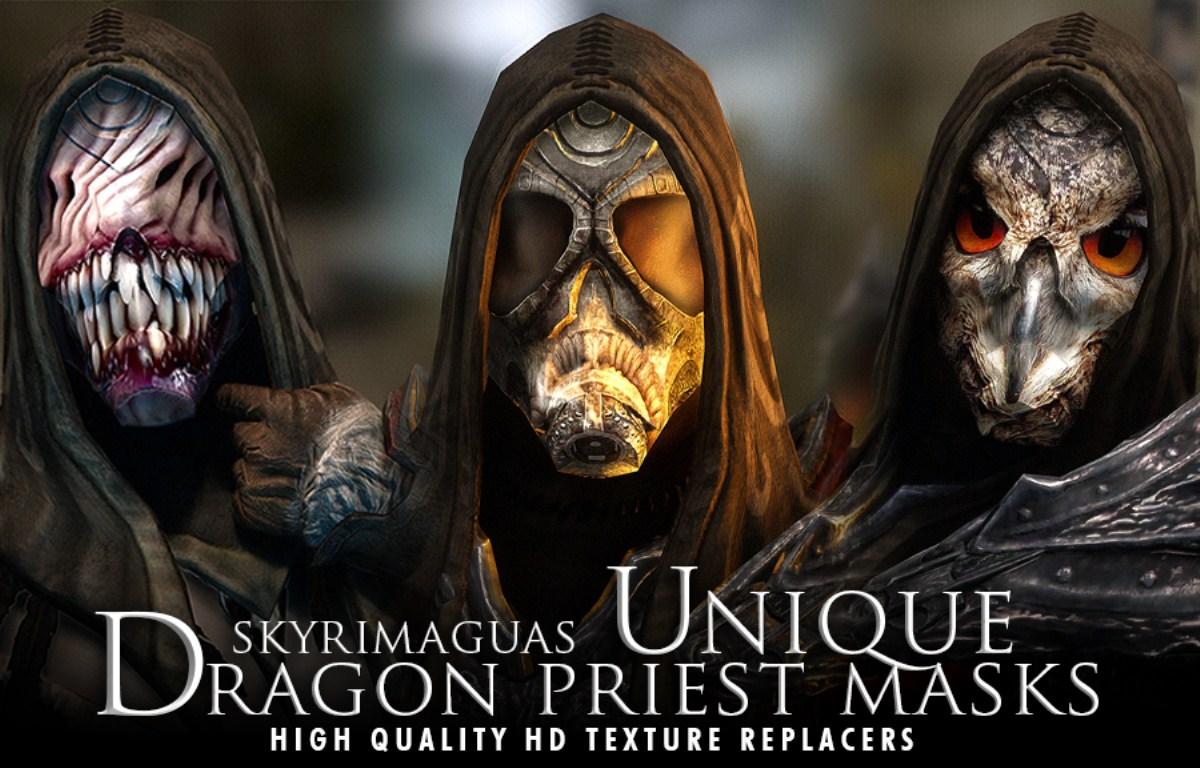 Unique Dragon Priest Masks