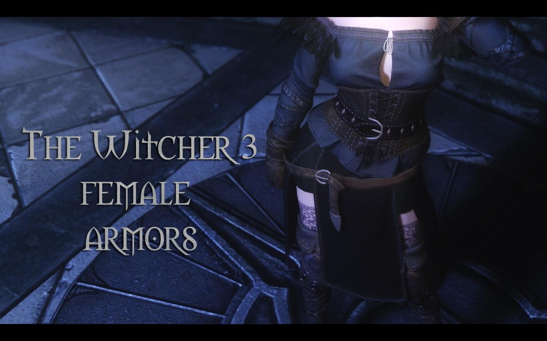 Witcher 3 Female Armors | Набор женской брони из игры Ведьмак 3: Дикая Охота