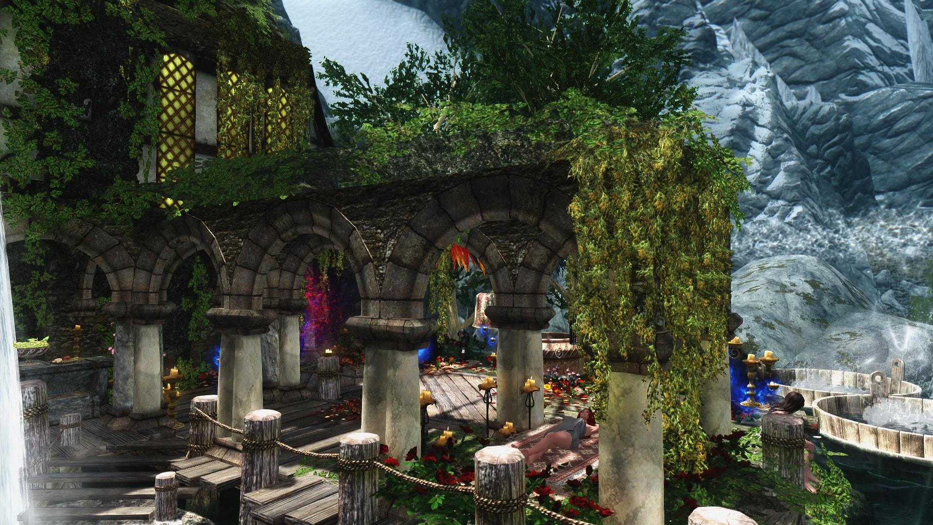 Deithwen - Witcher Inspired Home | Деитвен - большой дом для игрока