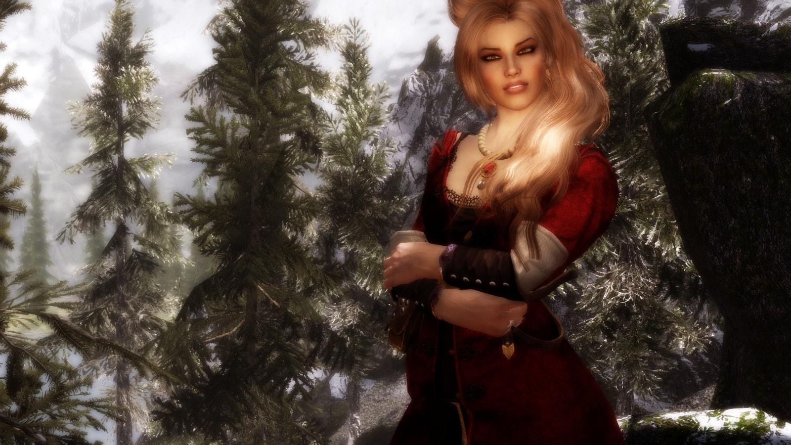 The Witcher 2 - Brigida Paperbrock Dress | Ведьмак 2 - Платье Бригиды Пепеброк