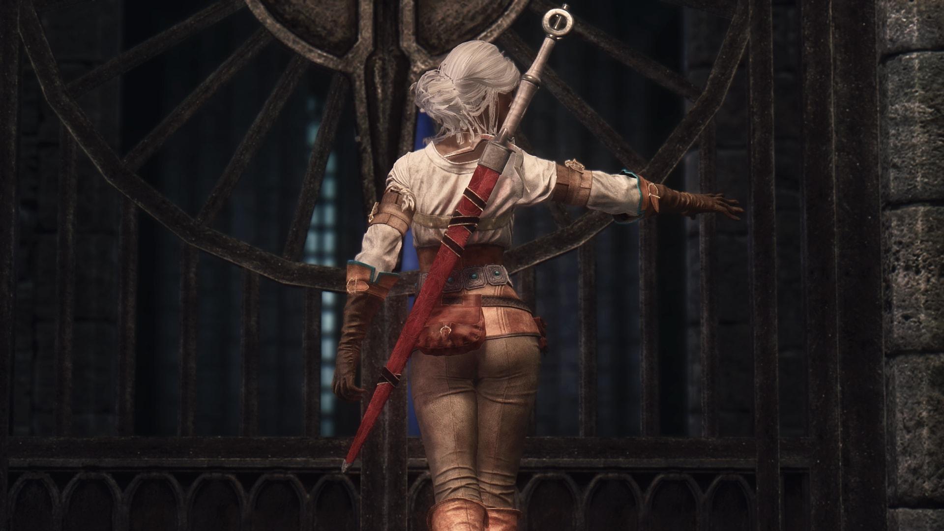 The Witcher 3 Ciris Outfit | Броня Цири из Ведьмак 3