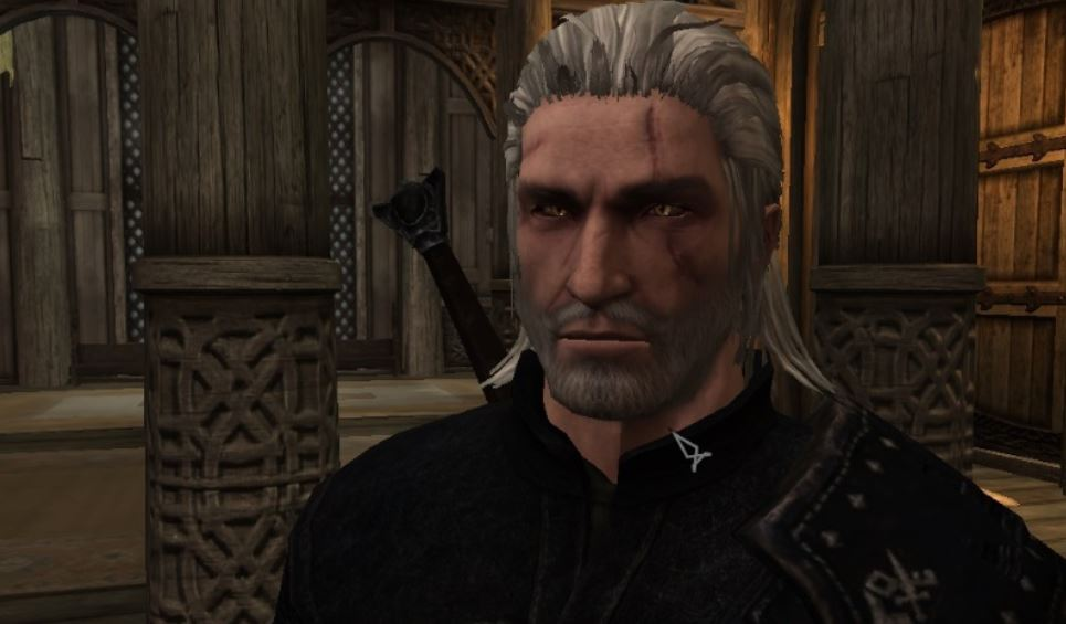 Witcher 3 Geralt of Rivia Racemenu Preset | Пресет Геральта из Ривии