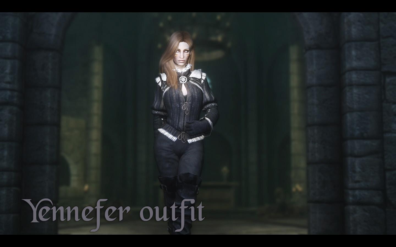 Nilfgaard armor by zzjay | Нильфгаардское одеяние Йеннифэр
