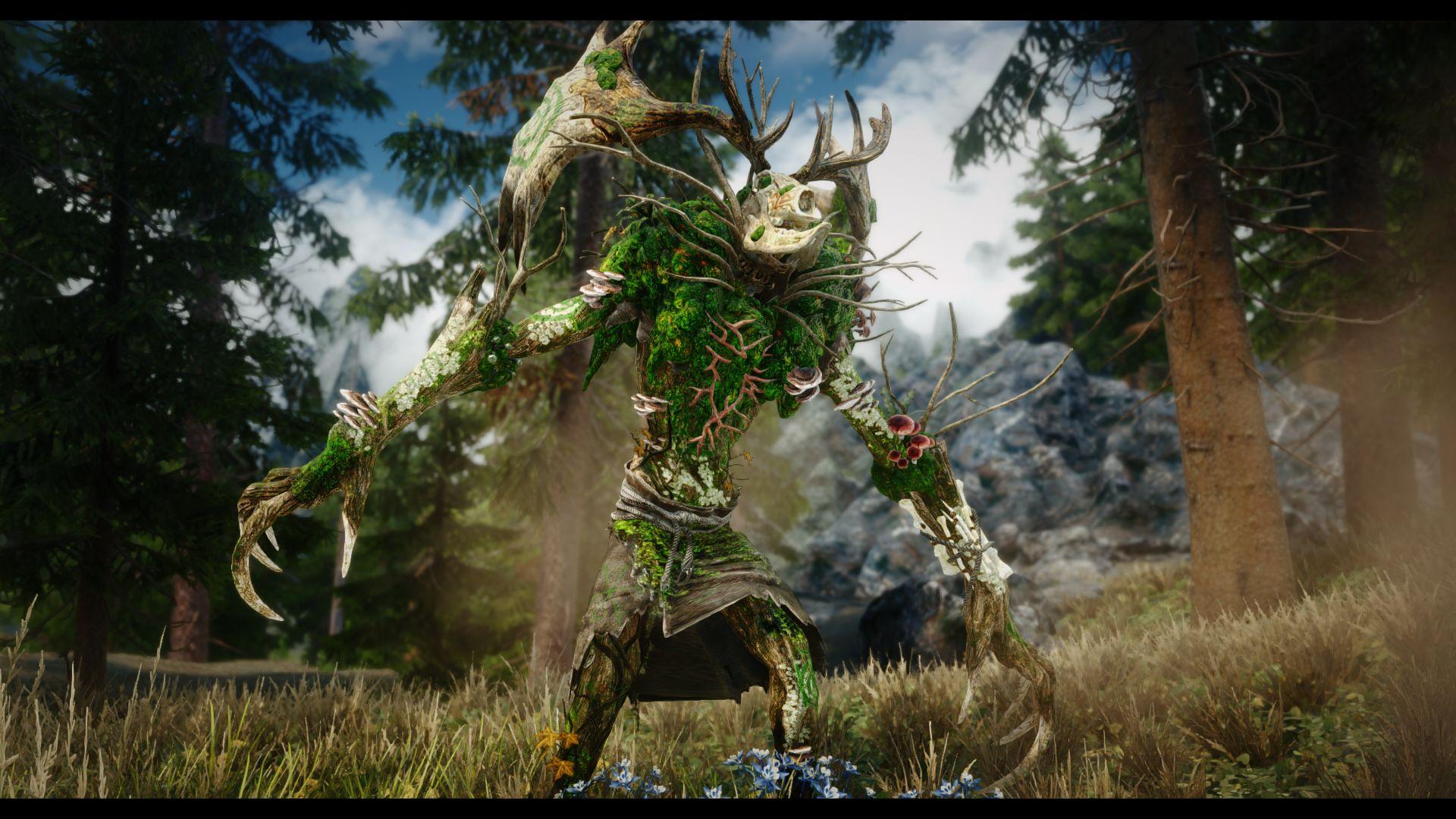 Old Gods of the Hunt - Mihail Monsters and Animals | Древний Леший из Ведьмак 3