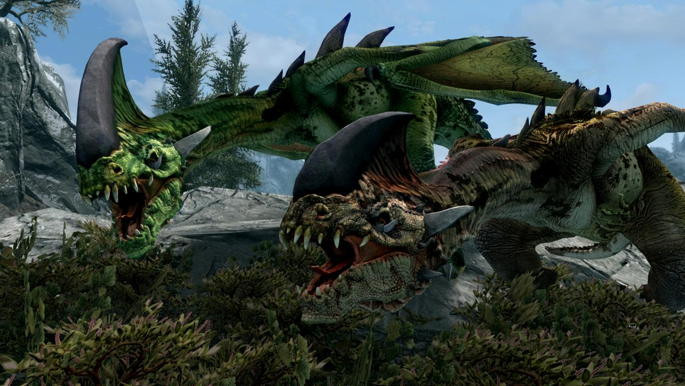 Dracolizards - Mihail Monsters and Animals | Дракониды из Ведьмак 3: Дикая охота