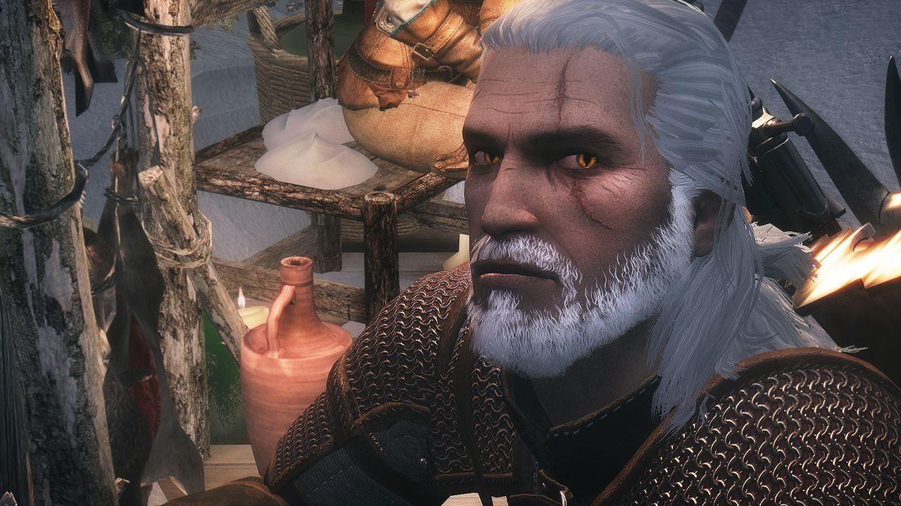 Geralt Of Rivia Voiced Follower The Witcher | Компаньон Геральт из Ривии