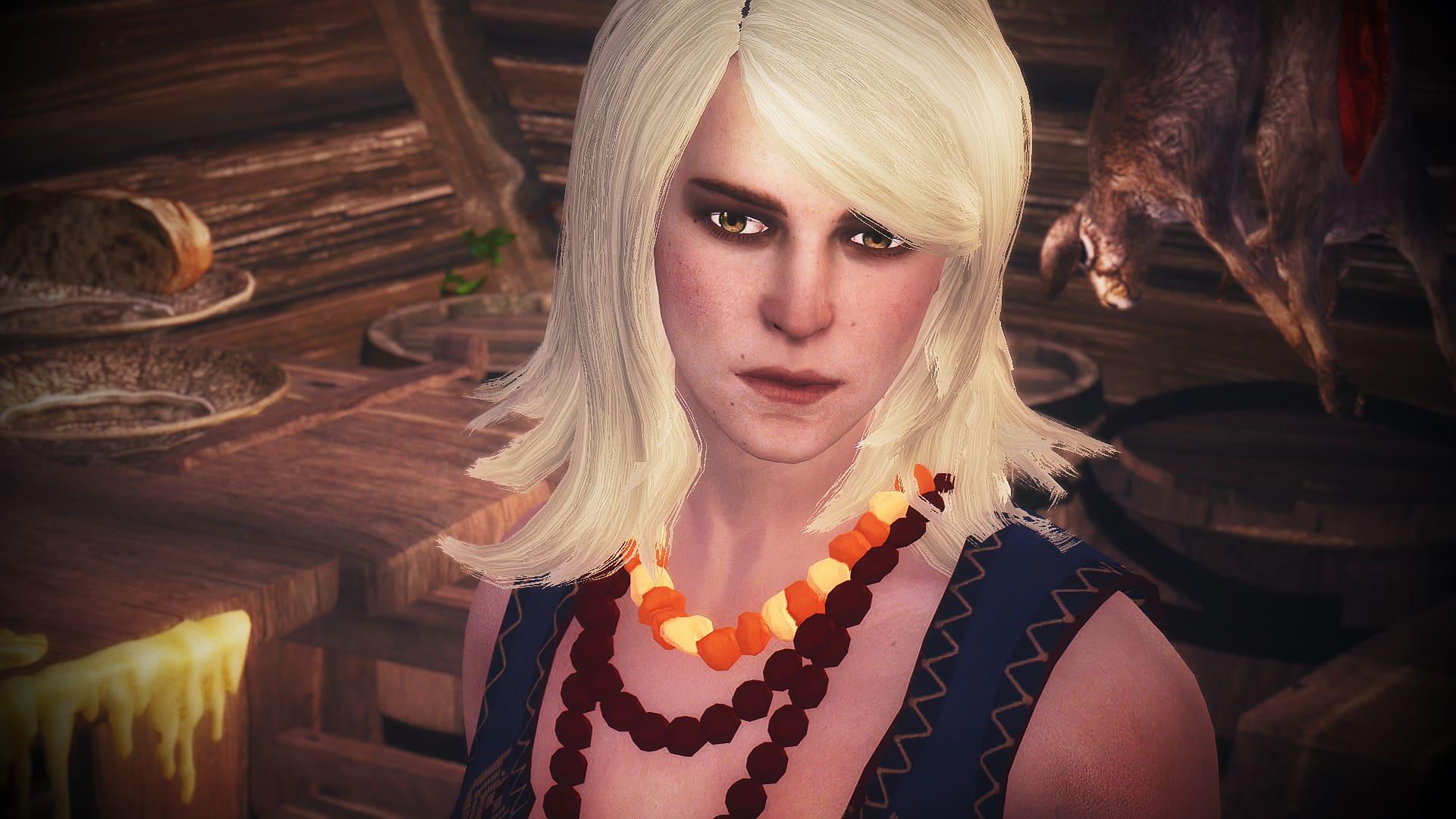 Keira Metz - Voiced Witcher 3 Follower | Ведьмак 3 - Кейра Мец из Каррераса