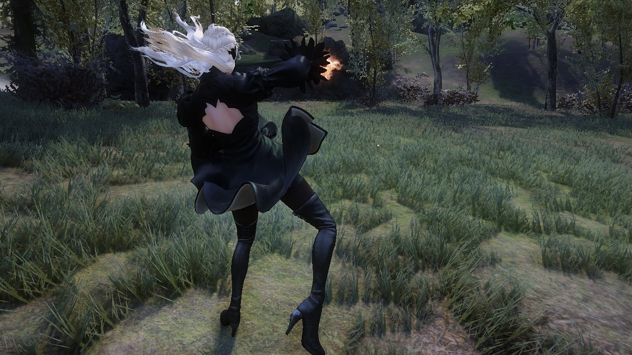 Witcher-Style Power Attack Animation | Анимация силовой атаки в стиле Ведьмака