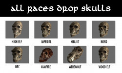 All Races Drop Skulls | Коллекционер черепов