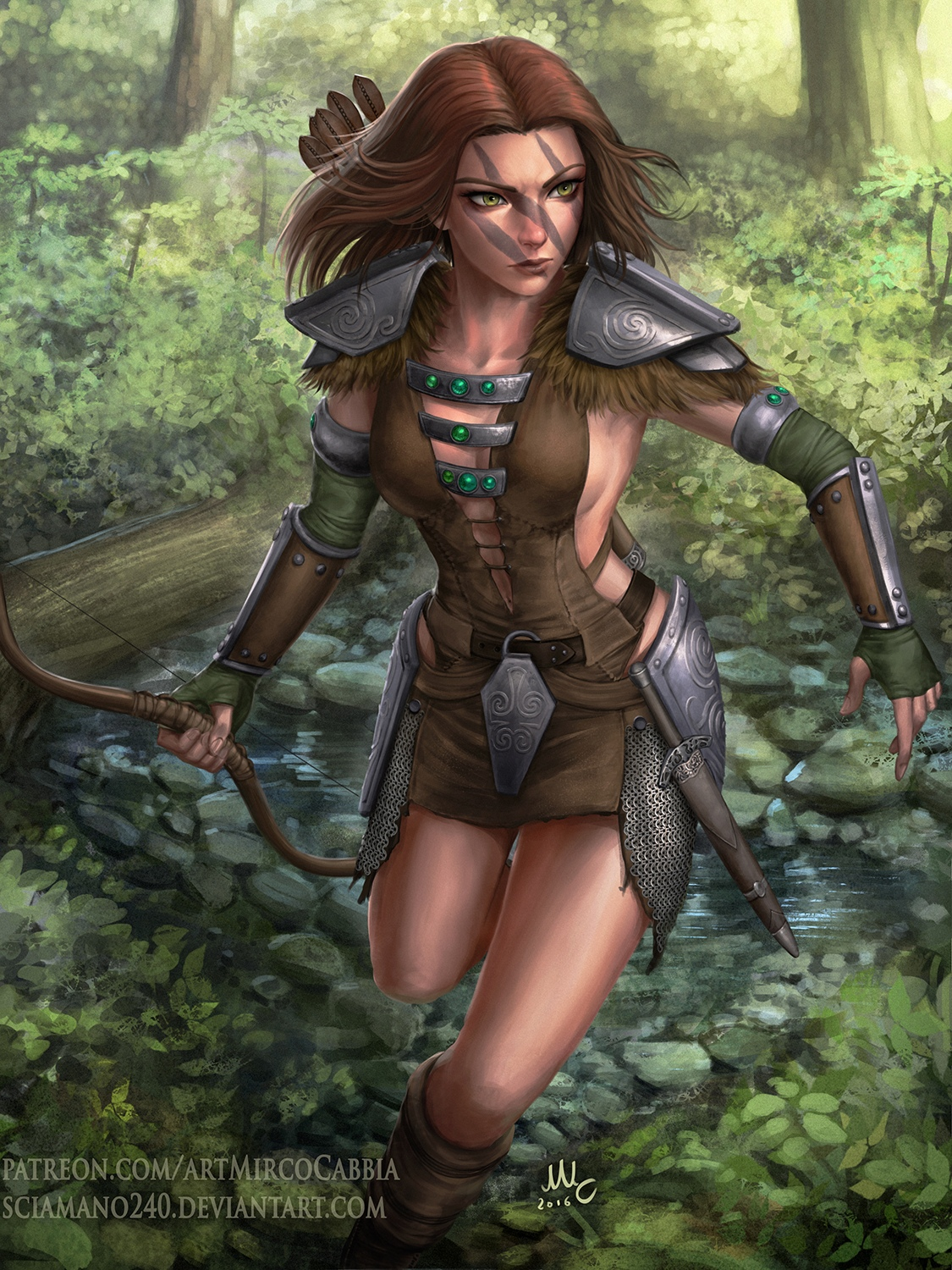 Aela The Huntress - Skyrim