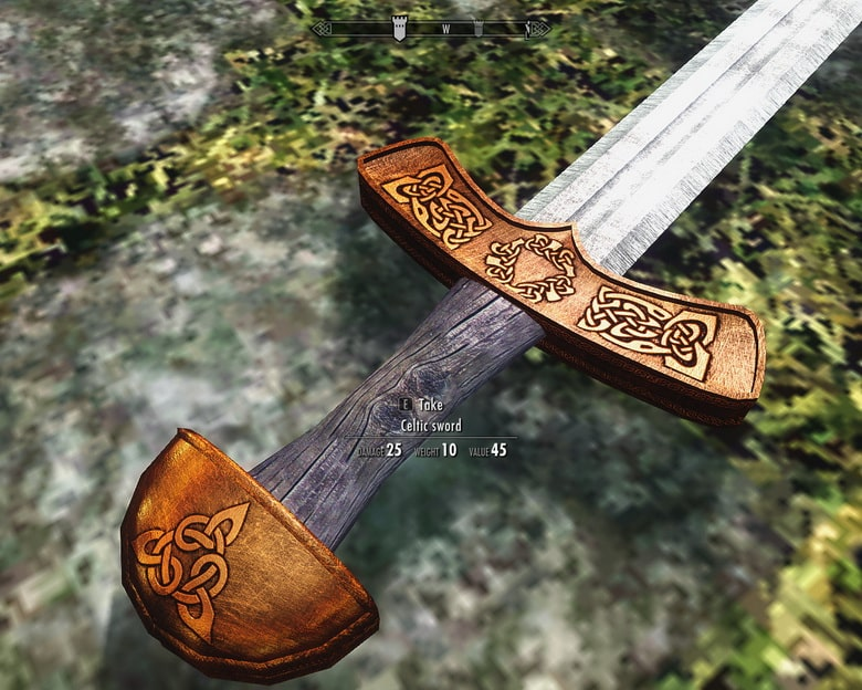 celtic sword