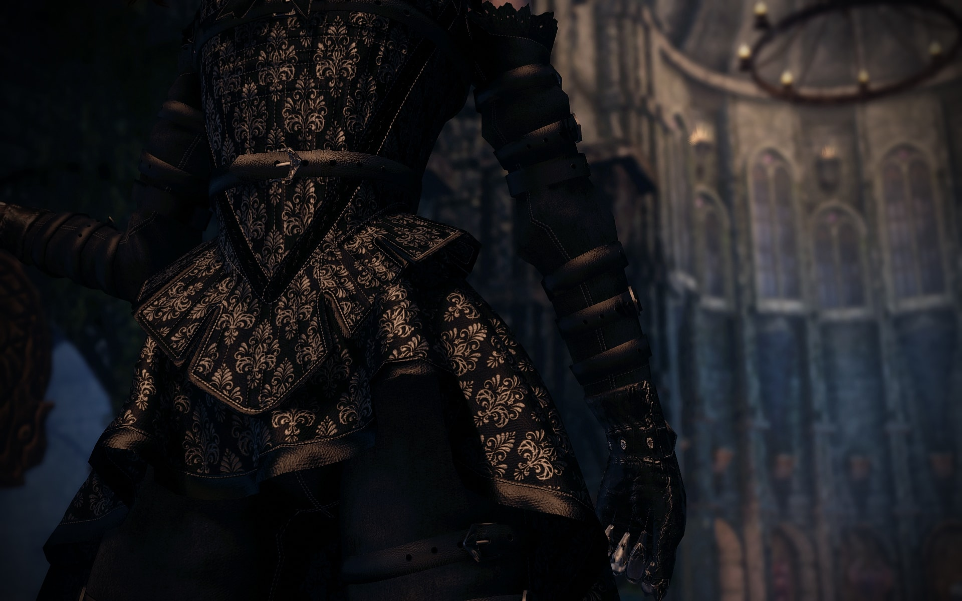 black stays outfit skyrim