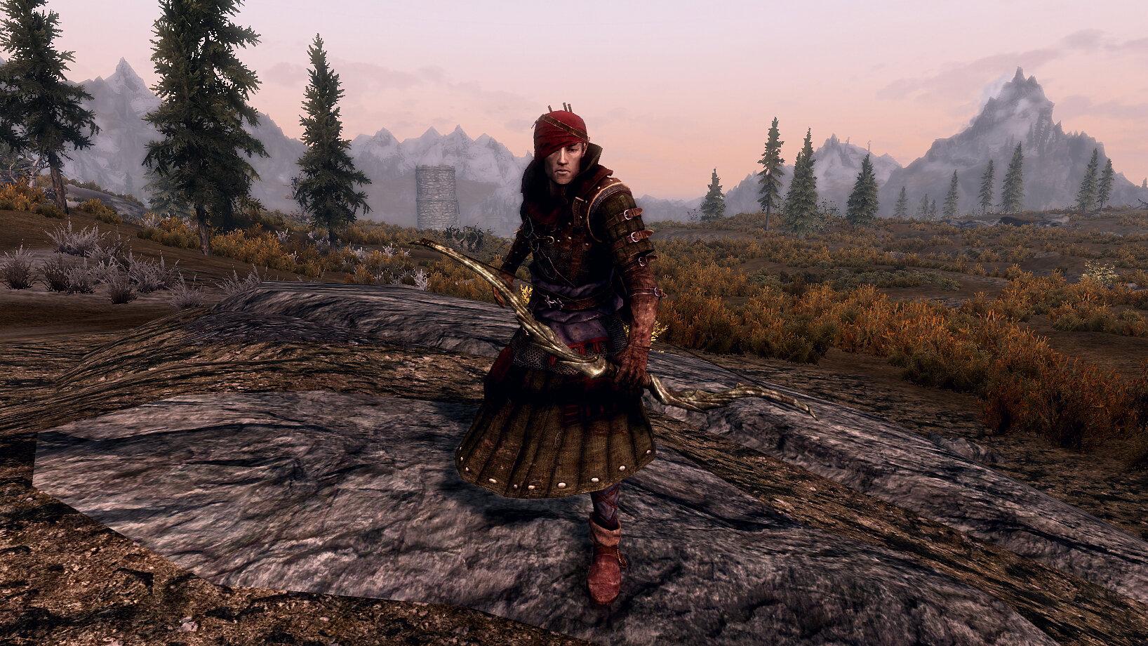 The Witcher 2 - Iorveth Light Armor | Ведьмак 2 - легкая броня Йорвета
