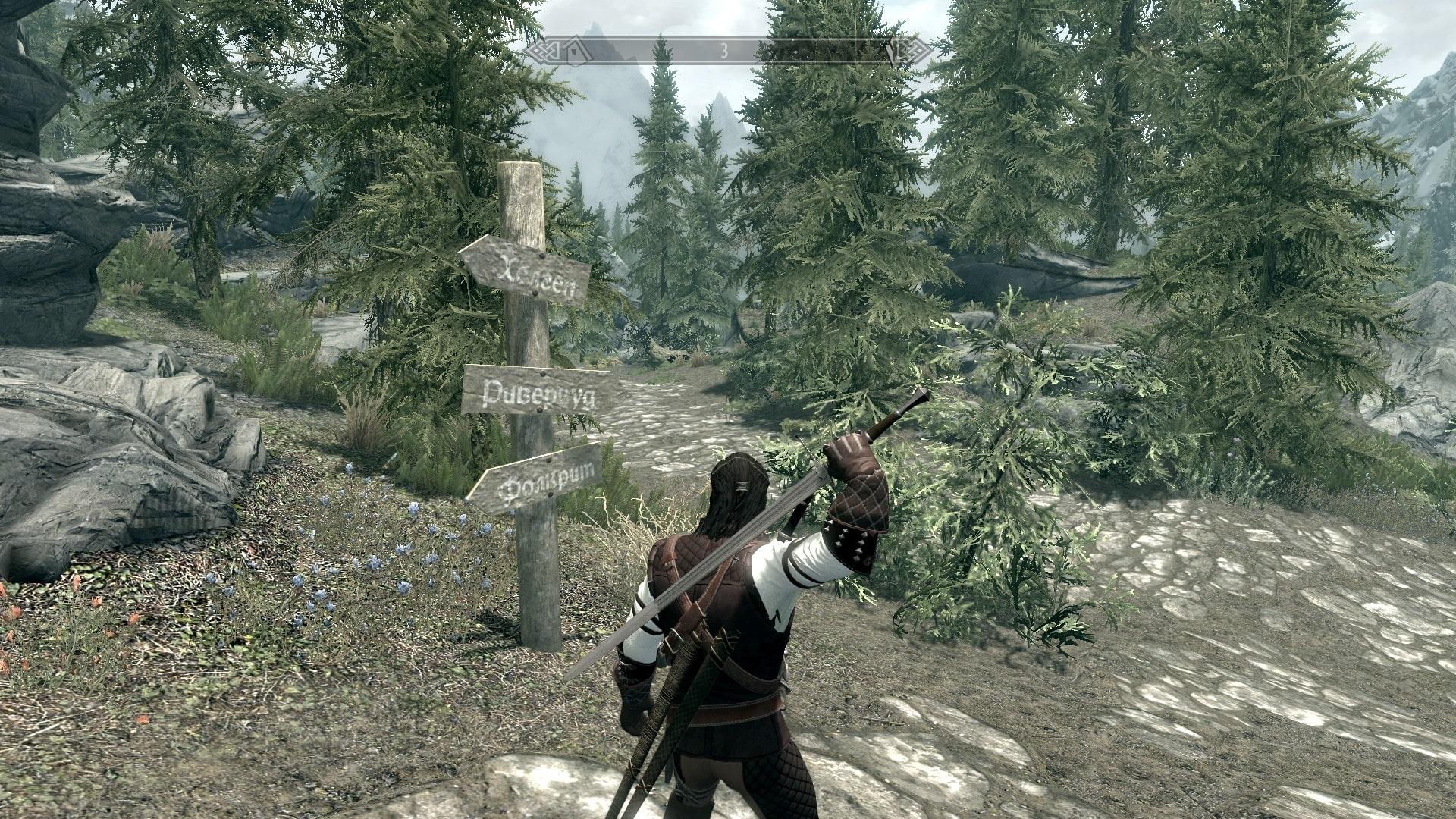 Witcher 3 Geralt Dual Swords | Ведьмак 3 - Двойные мечи Геральта