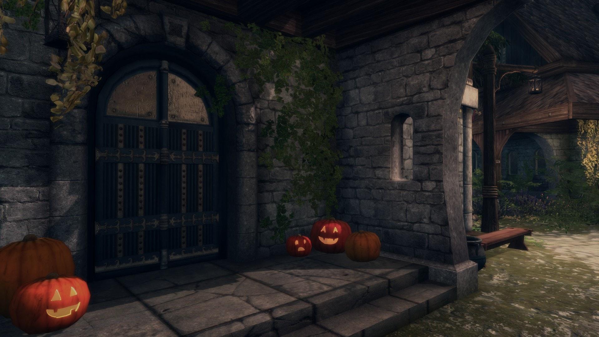 Halloween In Skyrim - Even More Pumpkins