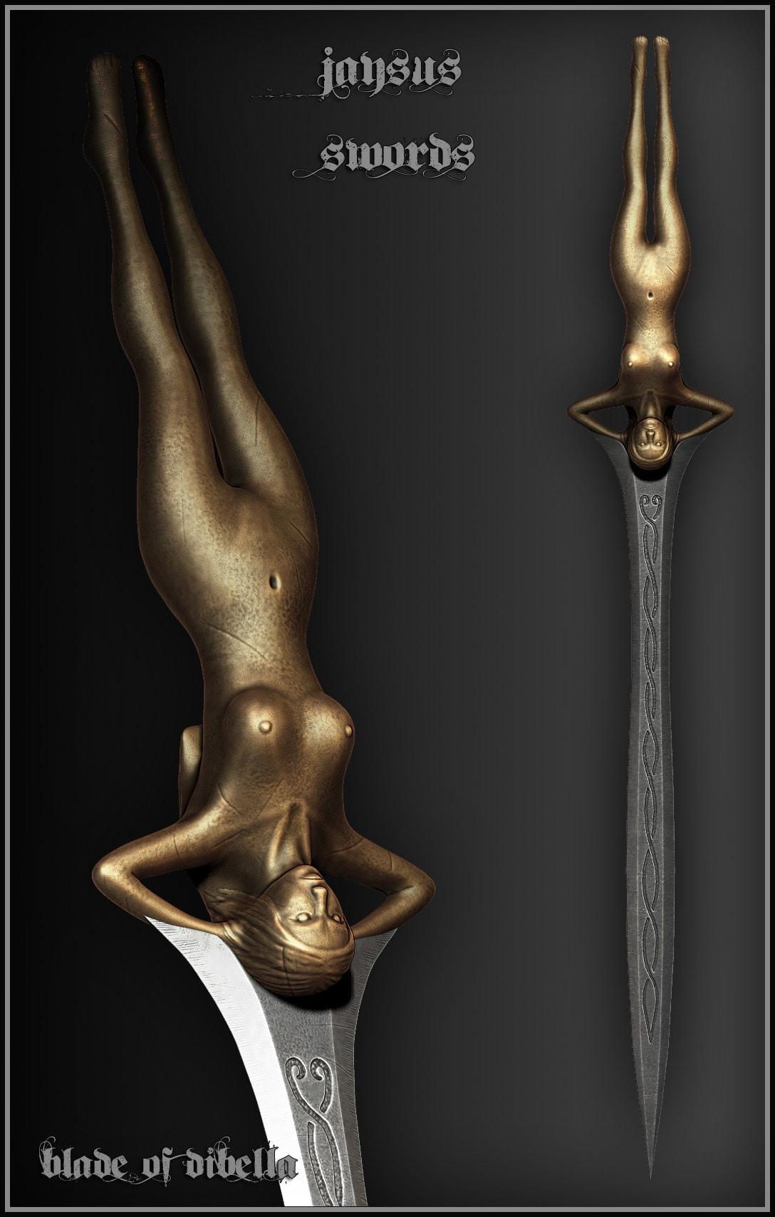 Клинок Дибеллы JaySus sword
