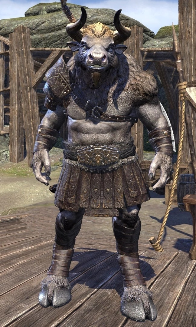 minotaur the elder scrolls