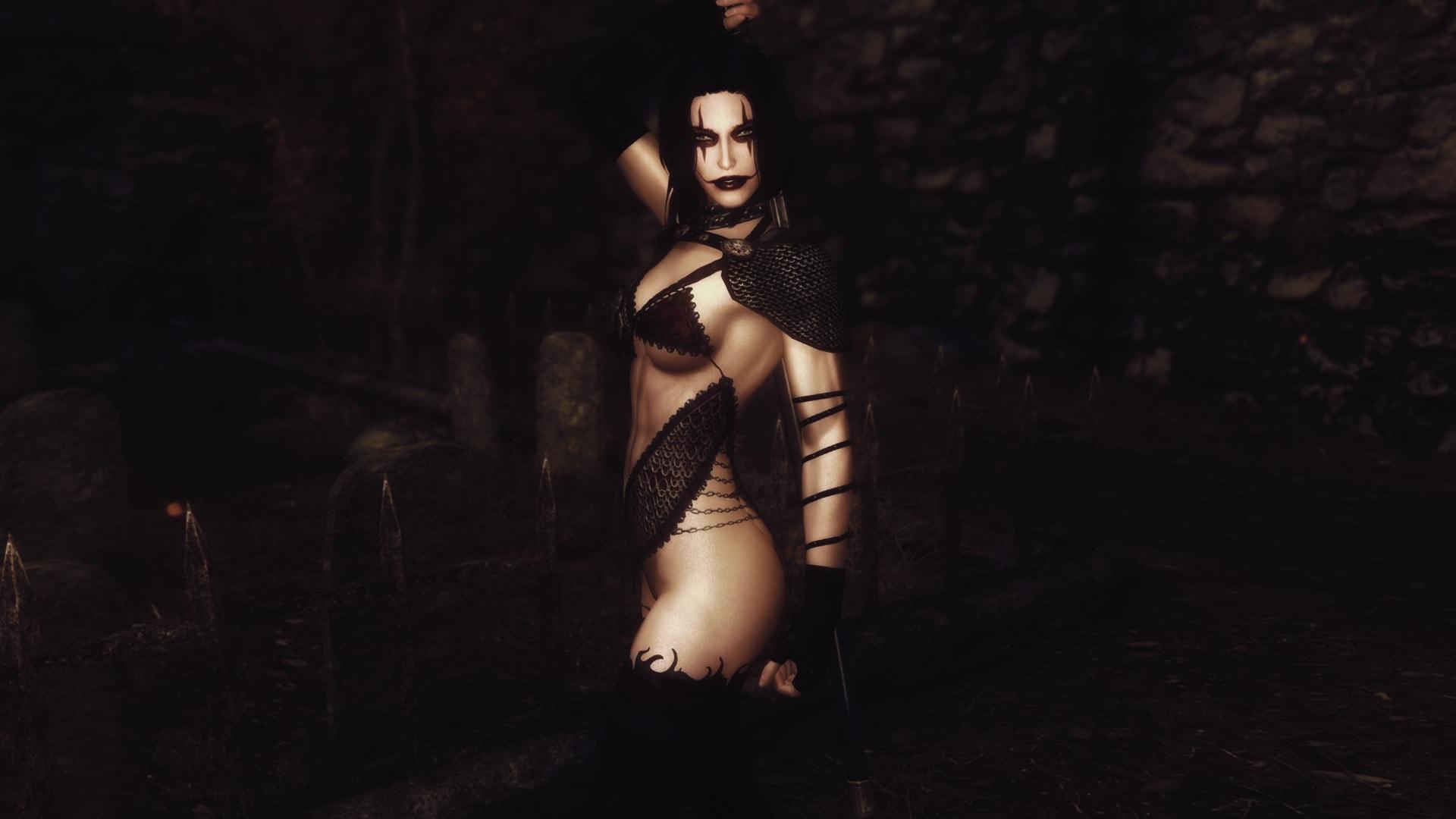 Nerida the Crow - Halloween Follower