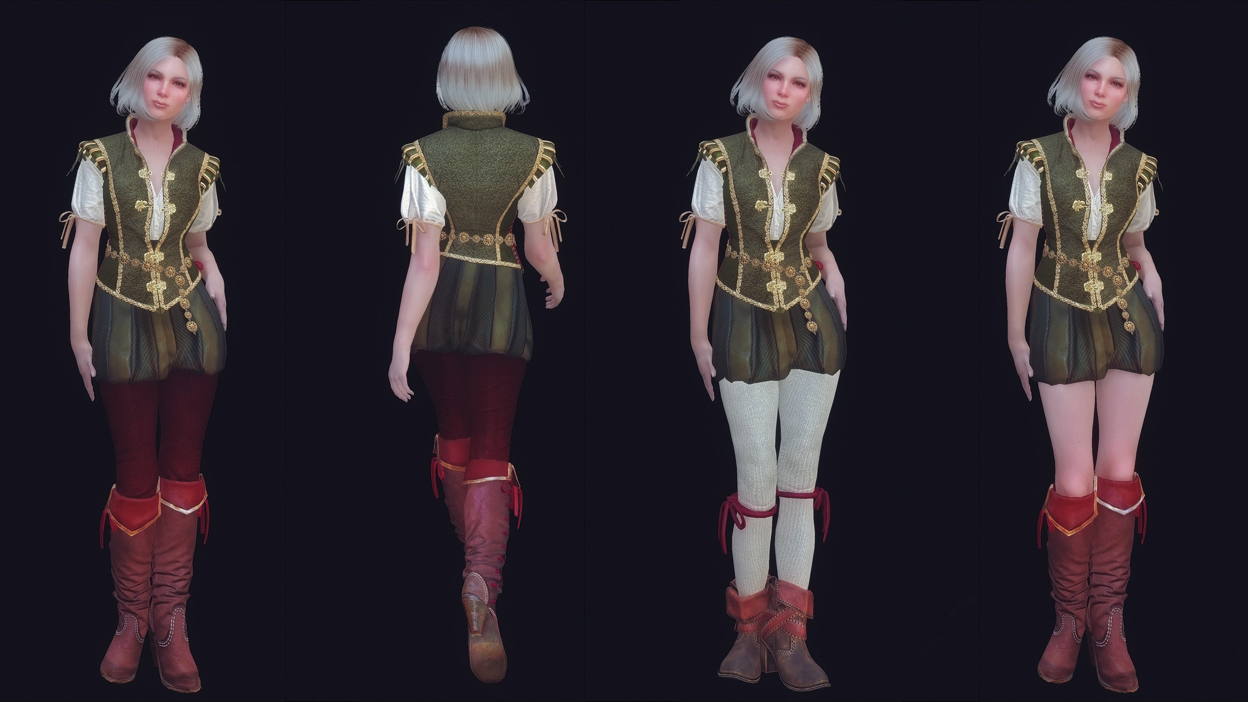 The Witcher 3 Shani Armor UNP | Броня Шани из Ведьмак 3