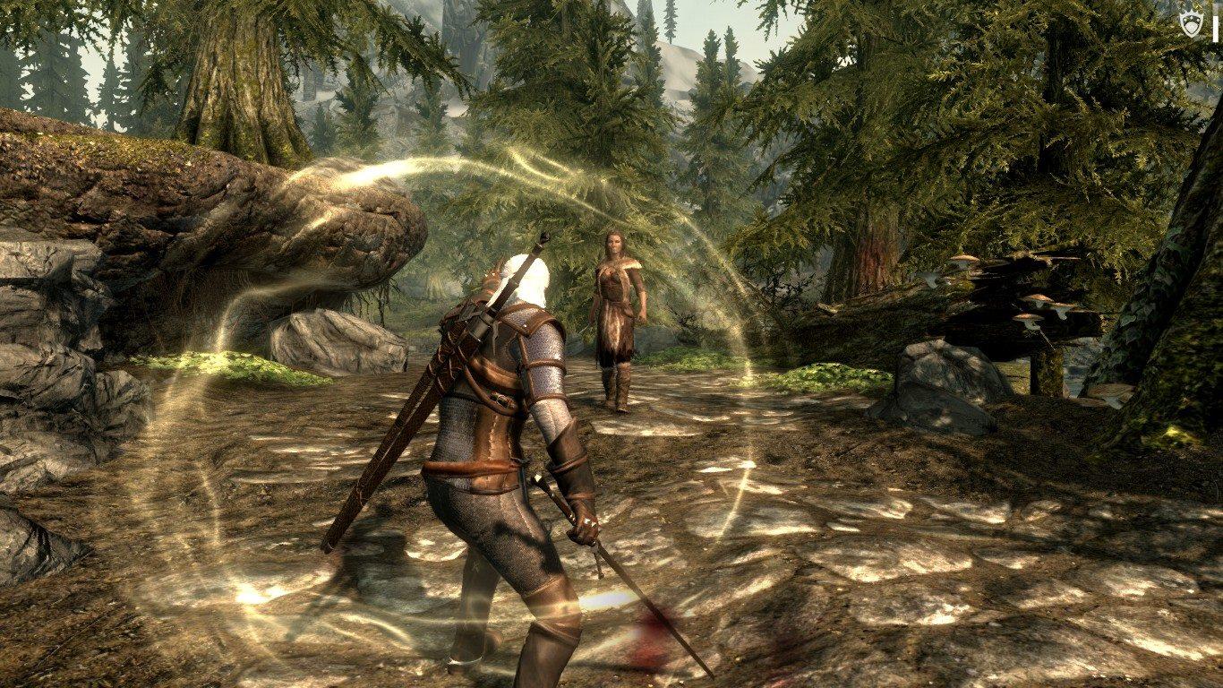 Witcher 3 Geralt Witcher Signs | Ведьмак 3 - Ведьмачьи знаки Геральта