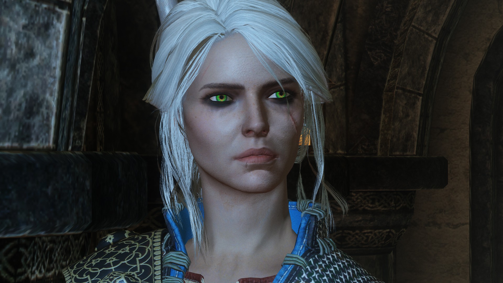 Cirilla Fiona Elen Riannon - Witcher 3 Voiced Follower | Цири - компаньон из Ведьмак 3