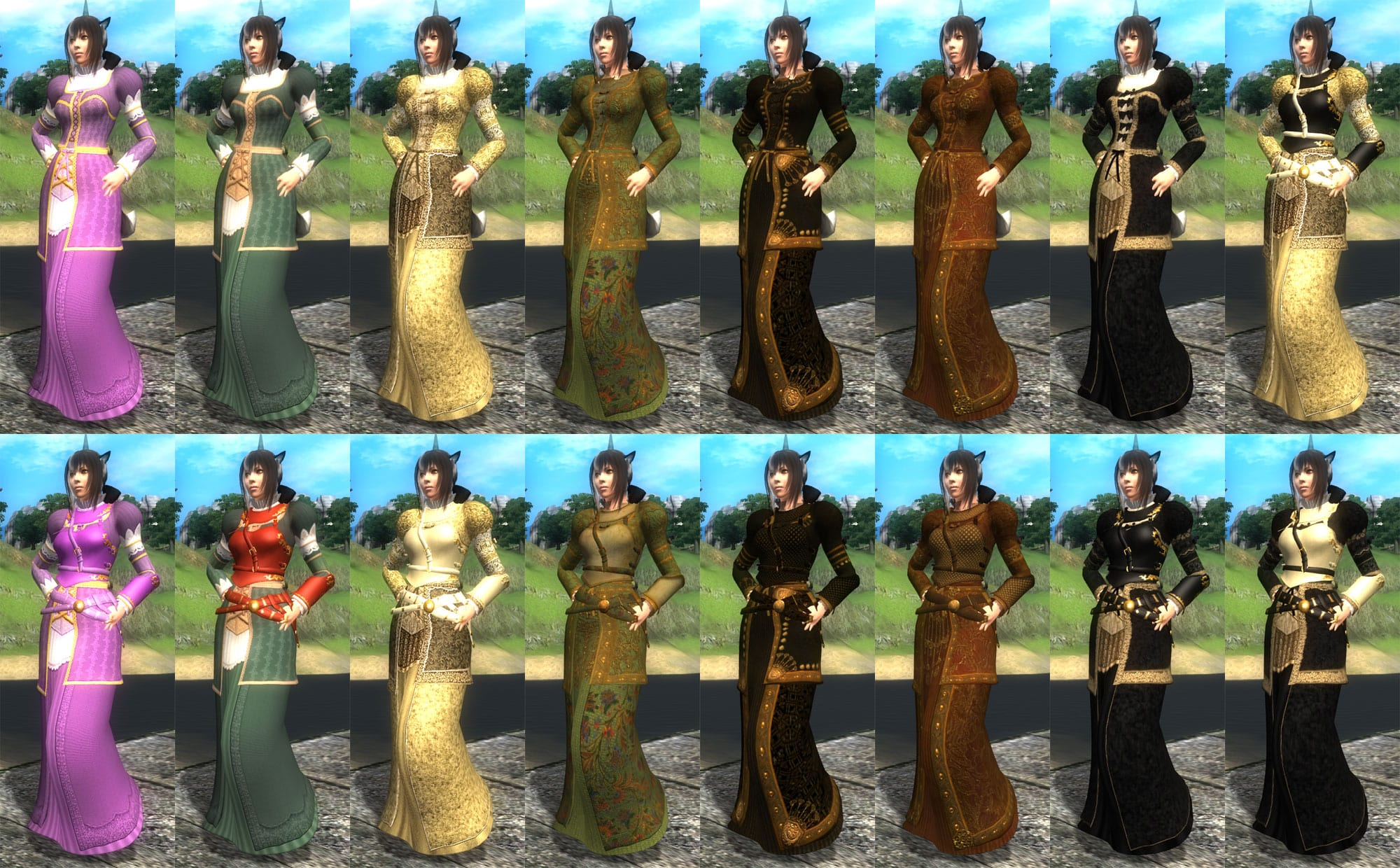 Ryk Athol Brose Armor and Clothing