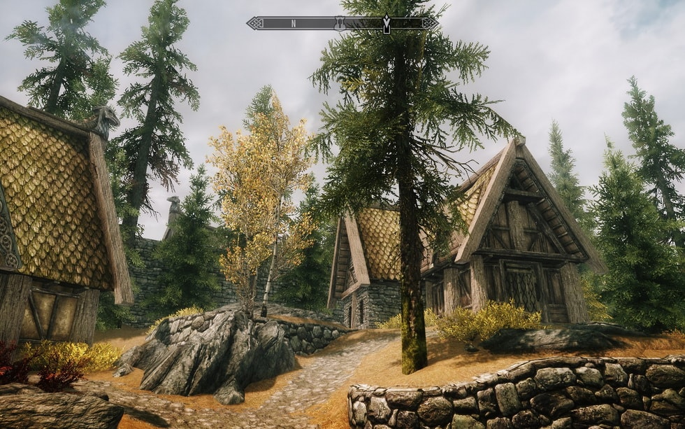 The Pines of Whiterun
